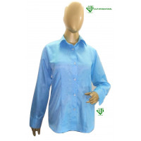 ALIF INTERNATIONAL LADIES SHIRT (BLUE) WITH COLLAR